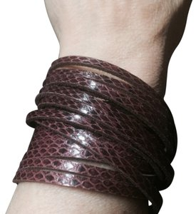 Other LEATHER WRAP BRACELET