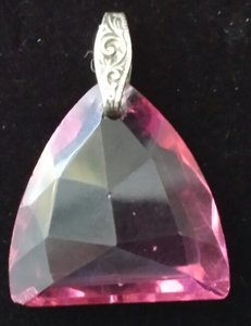Other PINK CUT CRYSTAL
