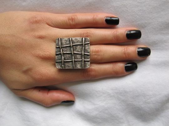 Other Oversized Nickel Ring