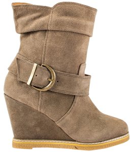 Kelsi Dagger Boot Bootie Suede taupe Boots