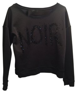 Rock & Republic Pullover Noir Graphic Sweater
