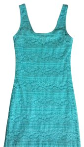 Forever 21 short dress Teal/Mint on Tradesy
