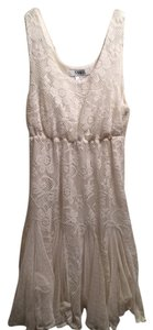 Other short dress cream Lace Vintage Style Lace on Tradesy