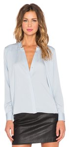 Halston Top blue rain