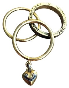 Juicy Couture Juicy Couture Set of Three Stackable Rings