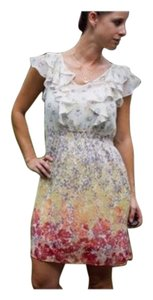 LC Lauren Conrad short dress Floral on Tradesy