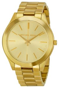 Michael Kors Gold tone Stainless Steel Designer Classic Casual Ladies Watch