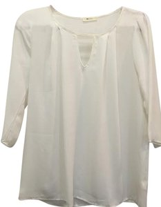 Everly Top White