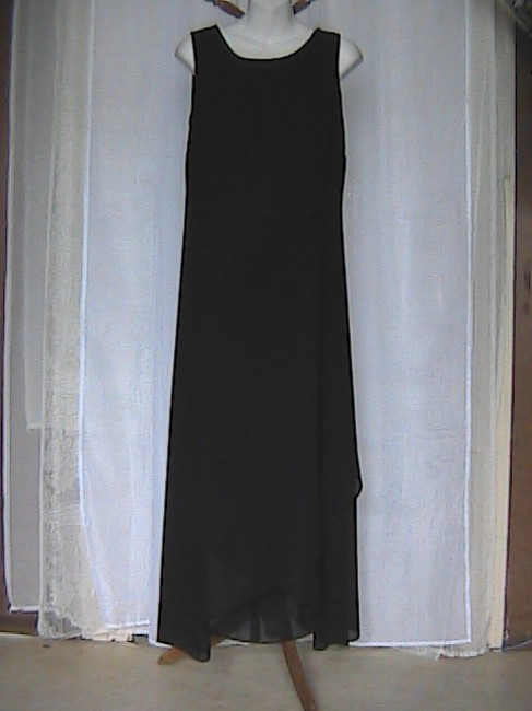 Black 2 piece (Blazer) Maxi Dress by Danny & Nicole