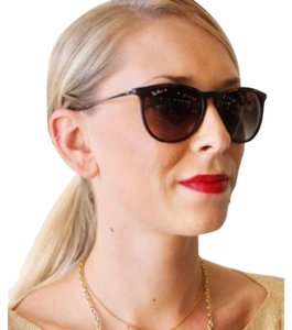 d601c7ad3b3 Ray-Ban Erika Brown Gradient Lens with Gun Metal Ear Piece Sunglasses 46%  off retail