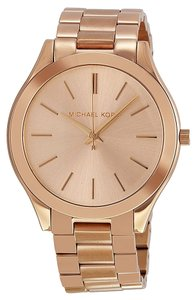 Michael Kors Rose Gold Stainless Steel Designer Classic Casual Ladies watch