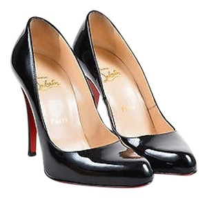 Christian Louboutin 100mm Stiletto 868 Black Pumps