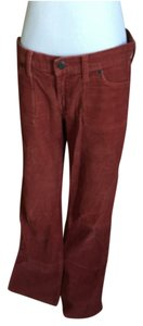 Abercrombie & Fitch Super Flare Pants Rust