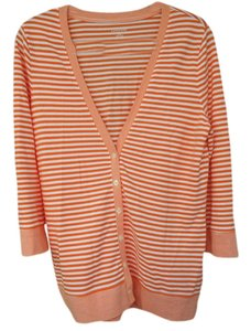 Lands End Orange Sweater