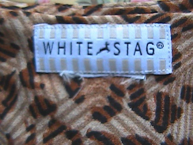 White Stag short dress Zebra color on Tradesy