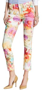 Kate Spade Bright Colorful Capri/Cropped Denim-Light Wash