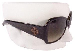 Tory Burch Tory Burch TY7004 Women's Brown Olive Green Square Sunglasses with Case NEW!