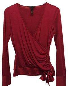 Kenneth Cole Top Dark Pink