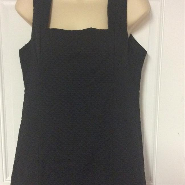 Vintage 60's Handmade Lbd Shift Great Tailoring Dress