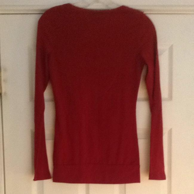 Belle du Jour T Shirt Burgundy Red