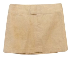 Laundry by Shelli Segal Mini Skirt Cream