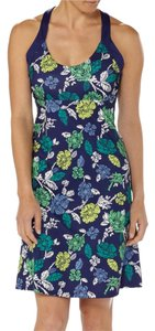 Patagonia short dress Floral Pattern Summer Spring Blue Floral on Tradesy
