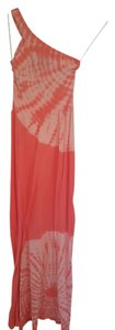 Peach Maxi Dress by C&C California Sun Tie Dye