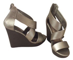 Mossimo Supply Co. pewter Wedges