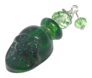 Hot Glass Skull Perfume Bottle Necklace Free Shipping