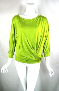 Blumarine Neon 34 Top Green