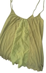 Velvet by Graham & Spencer Swing Top Yellow / Green