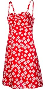Patagonia short dress Red & White Knee Length Straps on Tradesy