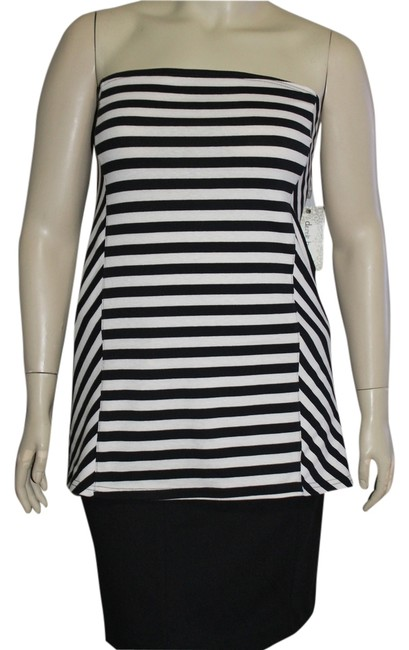 Derek Heart Black/White Halter Top