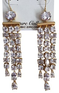 Ralph Lauren 'Glam Slam' Signature Chandelier Cubic Zirconia Earrings