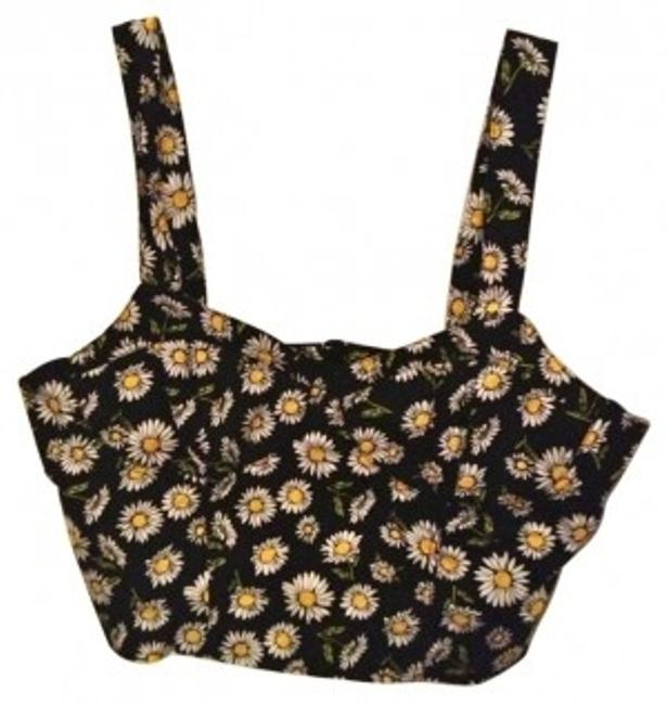 Preload https://item2.tradesy.com/images/forever-21-black-crop-90s-daisy-print-bustier-tank-topcami-size-12-l-137566-0-0.jpg?width=400&height=650