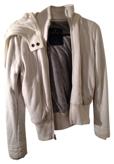 American Eagle Outfitters White Jacket