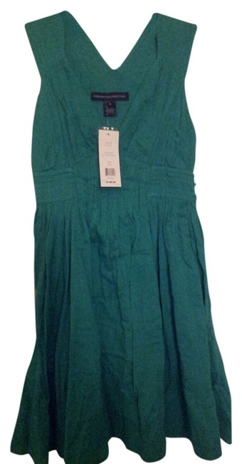 French Connection short dress teal blue on Tradesy