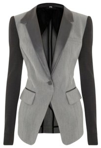 Cut25 Black and Gray Blazer