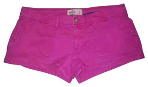 Hollister Womens Size 3 Mini/Short Shorts Pink