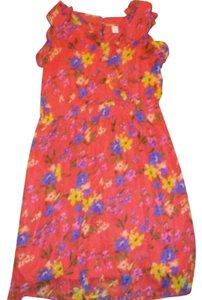 Old Navy short dress Red Multicolored on Tradesy