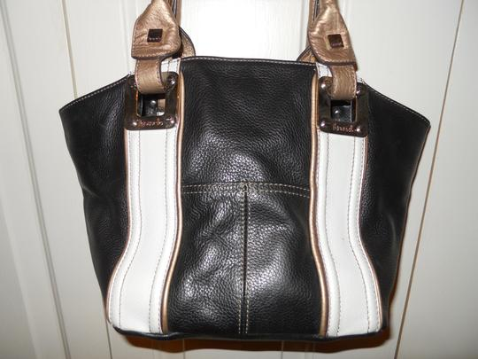 Tignanello Leather Tote in multi