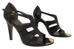 Tahari Shasta High Heels Sandals Strappy Brown Pumps
