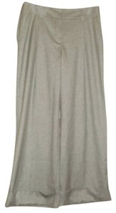 Trina Turk Wide Leg Pants Silver Grey