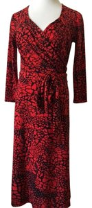 David Meister Work/office Casual Wrap Dress