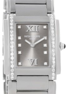 Patek Philippe Patek Philippe Twenty-4 Diamond Ladies Watch 4910/10A-010