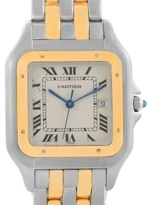Cartier Cartier Panthere Jumbo Steel 18K Yellow Gold Two Row Watch