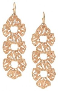 Stella & Dot STELLA & DOT ROSE GOLD GENEVE LINEAR EARRINGS