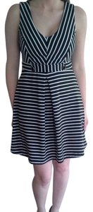 Monteau Los Angeles short dress Black and White on Tradesy