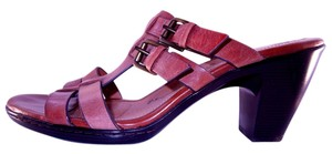 Söfft Sofft Womens Distressed Leather Sascha Sz 11 Brown Sandals
