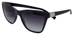 Giorgio Armani New GIORGIO ARMANI Sunglasses AR 8035 5017/8G Black Cat Eye Frame w/Grey Gradient Lenses